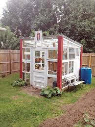 Build a Greenhouse from Old Recycled Windows