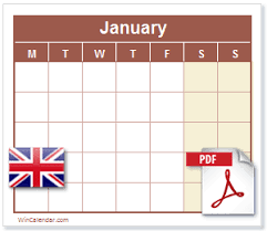 Printable Calendars 2020 With Holidays Free 2020 Uk Calendar Pdf Printable Calendar
