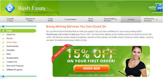 rushessay com review legit essay writing services  criteria 1 range of writing services offered mark 19 20