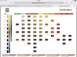 Redken Shades Color Gels Chart Redken Color Gels Chart 3 Redken Color Gels Redken