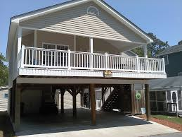 Awesome Designing Beach House Plans On Pilings U2014 Farmhouse Design House Plans On Stilts