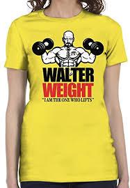 Amazon Com Bro Science Womens Walter Weight T Shirt Clothing