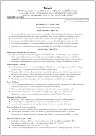 Corporate Trainer Resume Examples Of Resumes Racehorse Business Ex