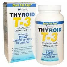 Absolute Nutrition, <b>Щитовидная железа T-3</b>, <b>оригинальная</b> ...