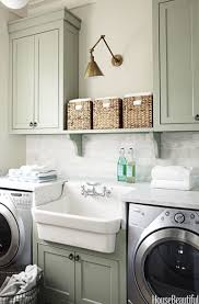 Laundry room office design blue wall Wooden House Beautiful 15 Small Laundry Room Ideas Small Laundry Room Storage Tips
