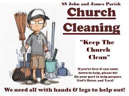 Keep The Church Clean Ss John And James Parish West Warwick Ri