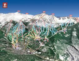breckenridge resort trail map  skicentralcom