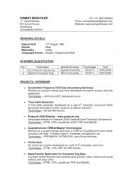 Resume Of Accountant In India Format Fresh Mbbs Sample Lovely Indian