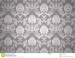 Lichtgevend Barok Behang Vector Illustratie Illustratie Bestaande