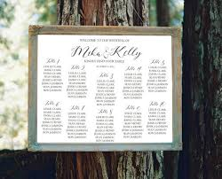 Guest Seating Chart Template Wedding Seating Chart Sign Printable Modern Seating Chart