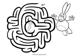 42 Labirinti Facili Per Bambini Da Stampare Pianetabambiniit