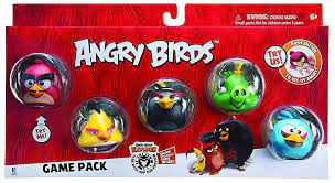 Angry Birds Plush 4-inch Red Blue Yellow Birds Set of 3 Toys & Games Plush  Puppets botani.com.au
