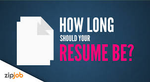 How Long Should A Resume Be Exactly How Long Should Your Resume Be 100 YouTube 67