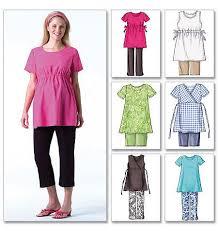 Maternity Patterns Impressive Butterick Pattern B48 Misses' Petite Maternity Top Shorts