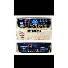 AMPLI DAT DA 6250 AMPLIFIER DAT DA6250 MP3 USH DIGITAL