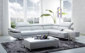 contemporary furniture sofa. small apartment design interior with white sectional sofa beds contemporary furniture