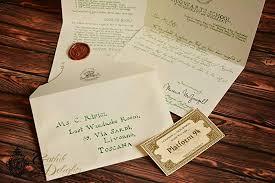 Amazon Com Handwritten Hogwarts Acceptance Letter Harry Potter Or
