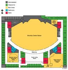 Bellevue Baptist Church Maps