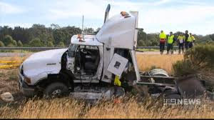 CH9: Trucks obliterated in fatal crash on Hume Highway - YouTube