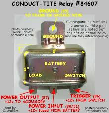 relay basics 3 Pole Relay Wiring Diagram 3 Pole Relay Wiring Diagram #13 4 pole relay wiring diagram