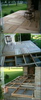 How To Build A Porch From Reclaimed Pallets  http://theownerbuildernetwork.co/