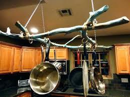 pots and pans wall racks