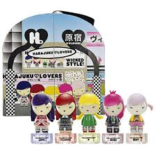 <b>Harajuku Lovers Wicked</b> Style Gift Set-5 Pieces @ 0.33oz/10ml EDT ...