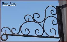decorative scroll heavy duty wall mount basket bracket to enlarge