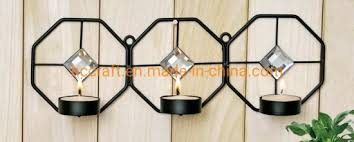 wall sconce candle holder metal and