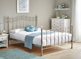 Blake Copper Metal Bed Frame
