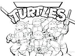 Free Teenage Coloring Sheets Teenage Mutant Ninja Turtles Color