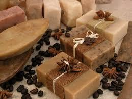 Картинки по запросу фото кофейного мыла с люфой