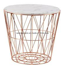 china modern outdoor marble wooden tempered glass top steel wire round coffee table china steel wire table round coffee table