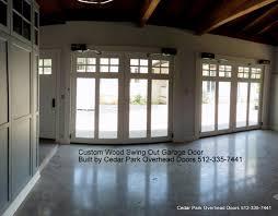 swing out garage doorsCustom Swing Out Garage Doors  Cedar Park Overhead Doors