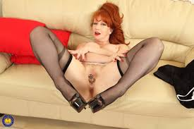 Sexy long legged redheads