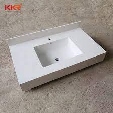 china acrylic one piece bathroom sink