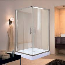 ei sp36 corners series splash square 6mm 1 4 thick clear tempered glass shower doors enclosure by empire industries kitchensource com
