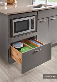 Kitchen Storage Room A Base Microwave Cabinet Frees Up Counter Space And Leaves Plenty