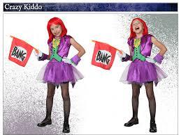 child girls joker costume