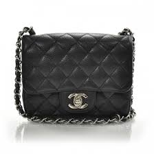 CHANEL Caviar Quilted Mini Flap Black 21251 & CHANEL Caviar Quilted Mini Flap Black Adamdwight.com