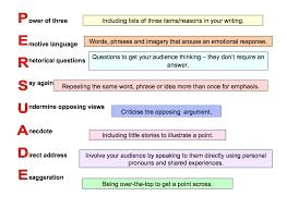 writing persuasive strategies developing persuasive writing strategies readwritethink