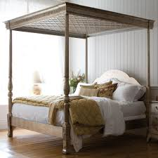 Four Poster Bed Frame King Simple High End Beds. Four Poster Bed ...  interior design. White Four Poster Bed .