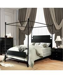 Can't Miss Bargains on Mcrae Canopy Bed Size: California King, Color ...