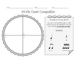 4 4 Pie Chart Composition Worksheets
