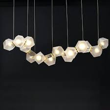 amazing modern linear chandeliers for in addition to the metallic versions there is also a linear