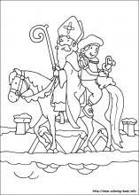 Small Picture Saint Nicholas coloring pages on Coloring Bookinfo