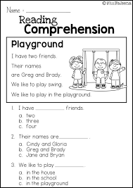 Free Reading Comprehension Practice | Best of TPT | First grade ...