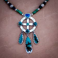 medicine wheel necklace