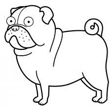 47 Disegni Cani Simpatici E Divertenti Da Colorare