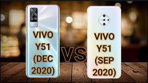 vivo Y51 (2020) December vs vivo Y51 ...
